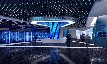 多媒体数字化多功能展厅,配合数字化展示技术营造丰富视觉效果。